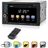 Boss Audio Systems BV9364B Car Stereo DVD Player - Double Din, Bluetooth Audio/Hands-Free Calling, 6.2 Inch Touchscreen…