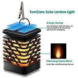 TomCare Solar Lights Solar Lanterns Dancing Flame