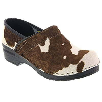 Amazon.com | Bjork Professional Safari Collection Leather Clogs in Brown Cow | Mules & Clogs