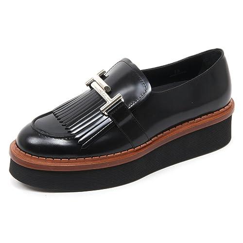 Tods - Mocasines para mujer negro negro negro Size: 36
