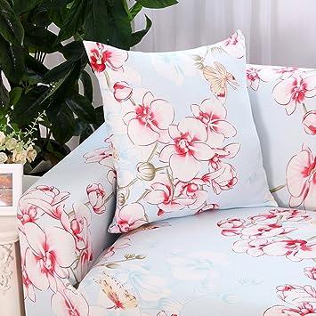 Funda de sofá estampada, reversible y lavable de Hotniu, elástica, 1 unidad, contrachapado, Pattern #6, 3 Seater for 195-230 cm: Amazon.es: Hogar