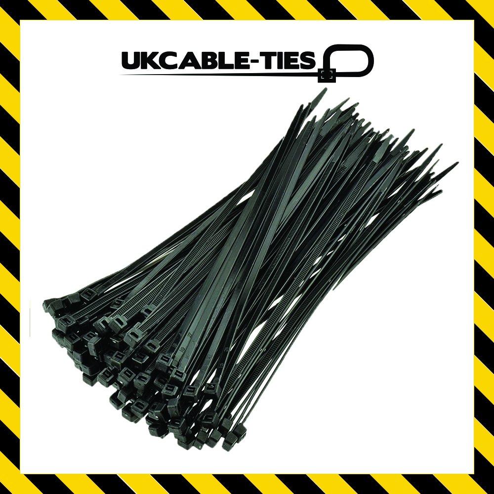 ukcable-ties fascette 160/mm x 2.5/mm nero/ /Confezione da 100