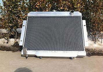 3 rows 52mm aluminum radiator for CJ CJ5 CJ6 CJ7 3.8L 4.2L 5.0L 1970-1985
