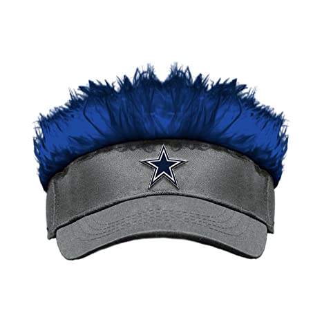 cf5461e5e8291 Image Unavailable. Image not available for. Color  Dallas Cowboys Flair  Hair Visor by Northwest