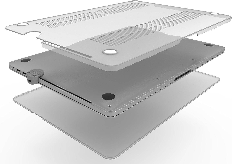 Maclocks MBPRTB13BUN-SM Ledge Lock Slot Adapter and Hard Shell Case for MacBook Pro Touch Bar 13 Bundle