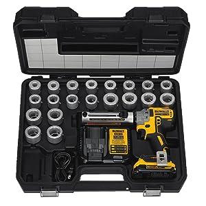 DEWALT DCE151TD1 20V MAX XR Cordless Cable Stripper Kit