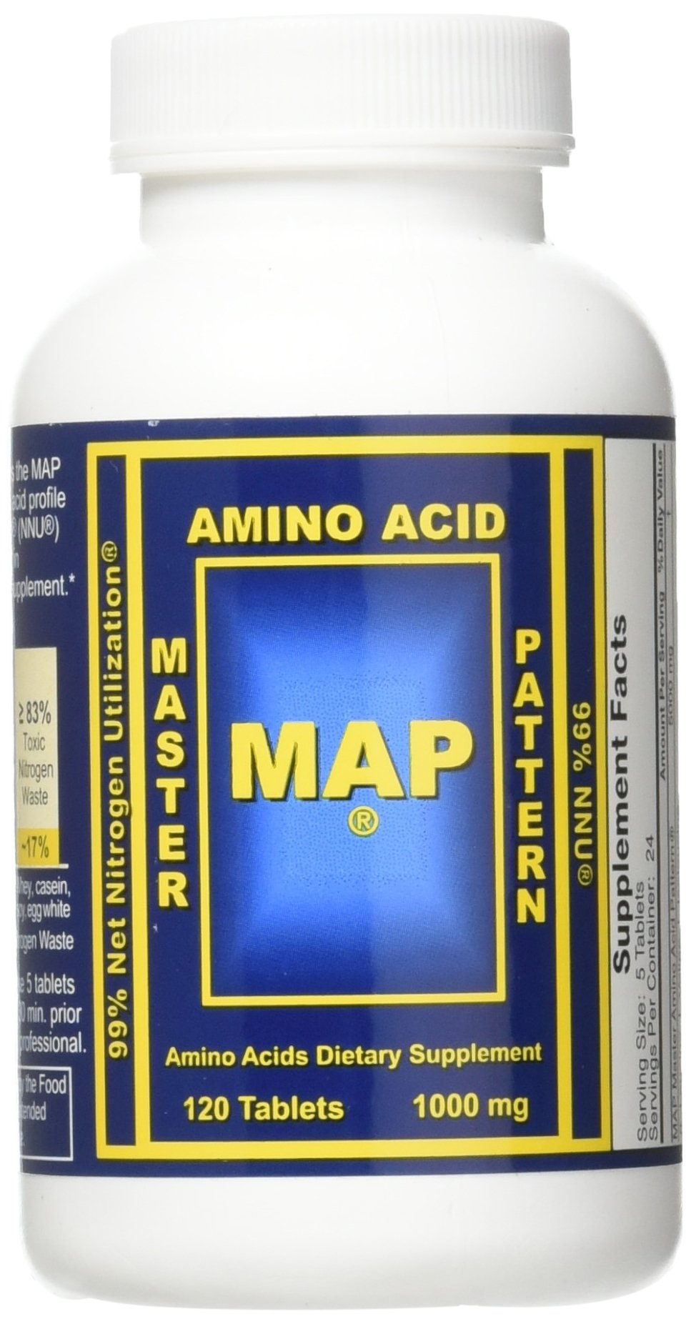 INRC Map 2 X Master Amino Acid Pattern 1000mg Muscle Building