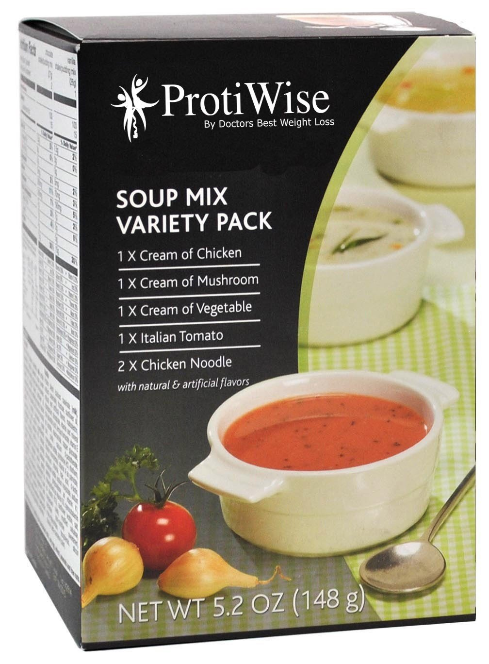 ProtiWise - Variety Soup Mix (7/box)