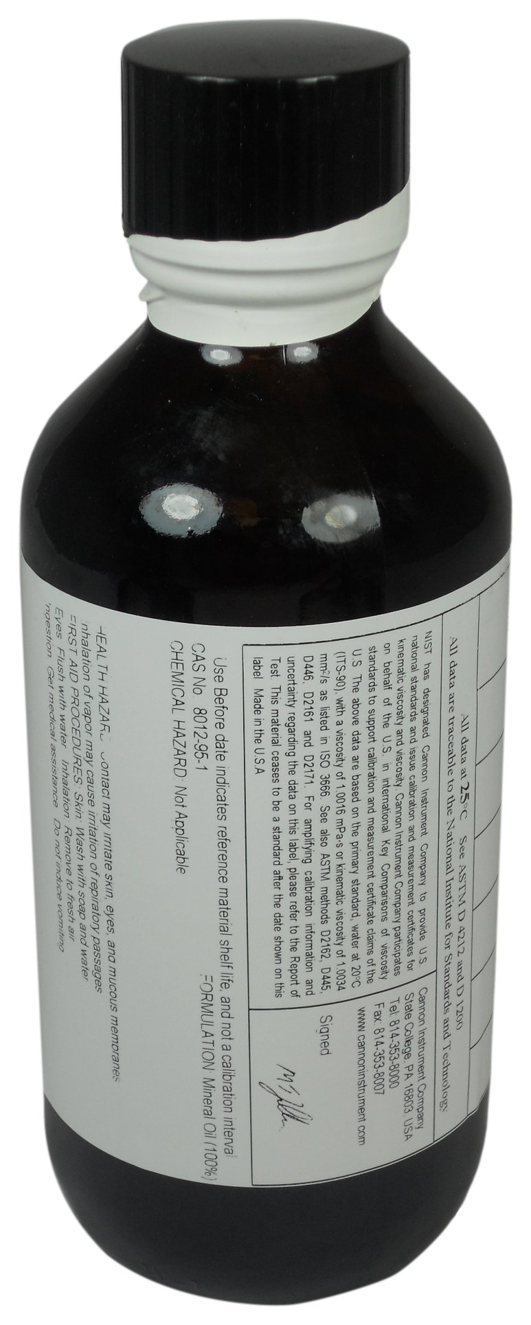 BYK-Gardner 4044 Certified Viscosity Standard Oils for Rotational Viscometers, Brookfield-Type, RT1000 by BYK-Gardner