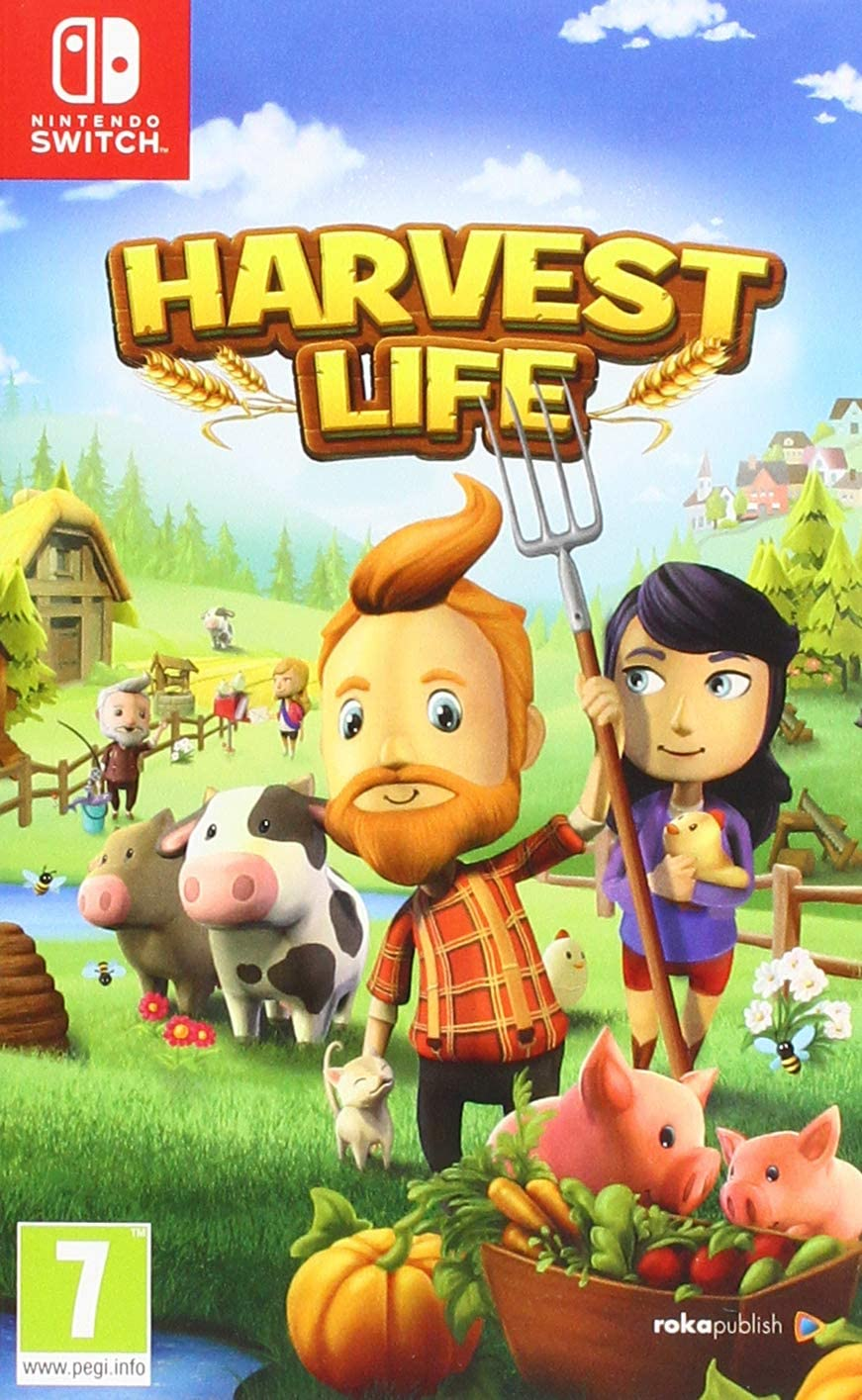 Harvest Life - Nintendo Switch [Importación inglesa]: Amazon.es ...
