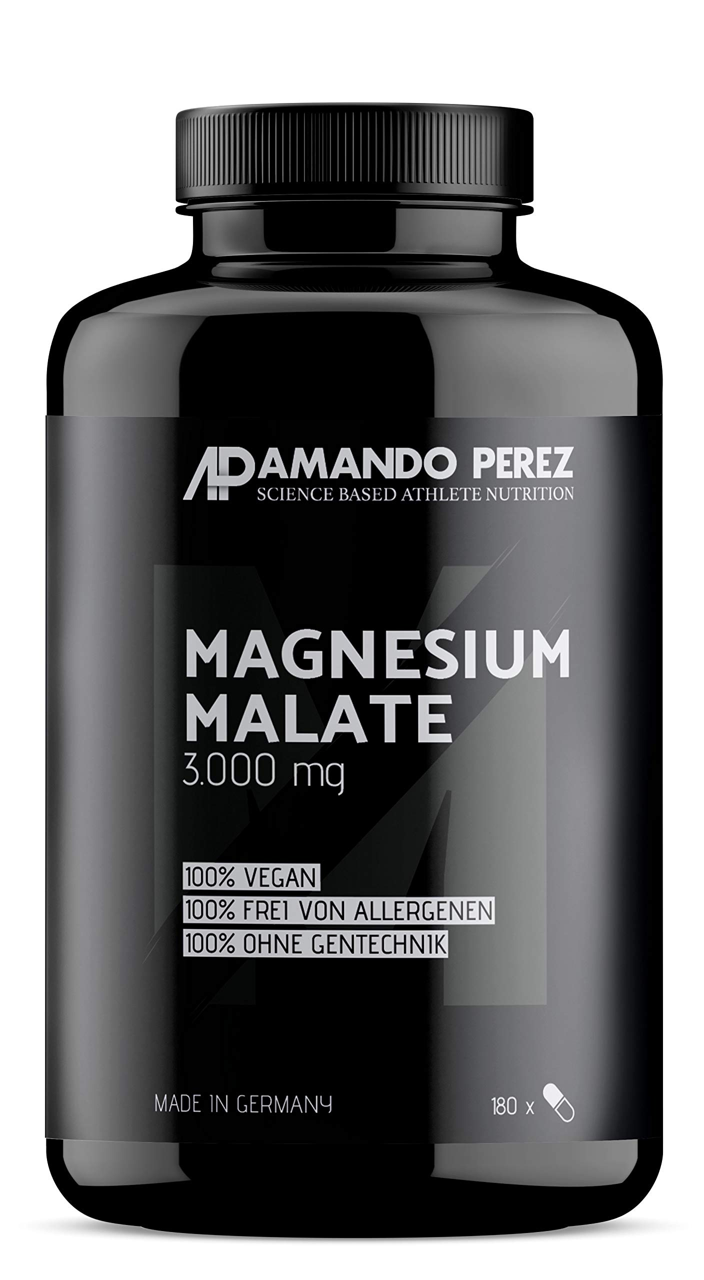 Magnesium Malate 3000 per dose – 180 Vegan Tablets