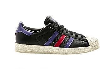 adidas Superstar 80s, Chaussures de Fitness Homme, Noir Negbas Azul