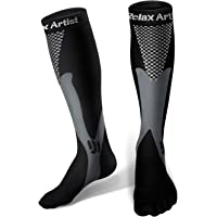 Relax Artist Unisex Compression Socks (Black)
