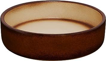 Pflanzschale 15x5 cm aus frostbeständiger Steinzeug-Keramik K/&K Bonsaischale