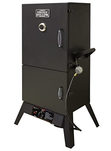 Smoke Hollow 38202G 38-Inch 2-Door Propane Gas Smoker - best gas smoker