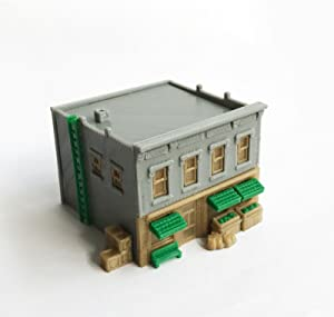 Outland Models Train Railroad City Fresh Food Shop / Store / Market N Scale