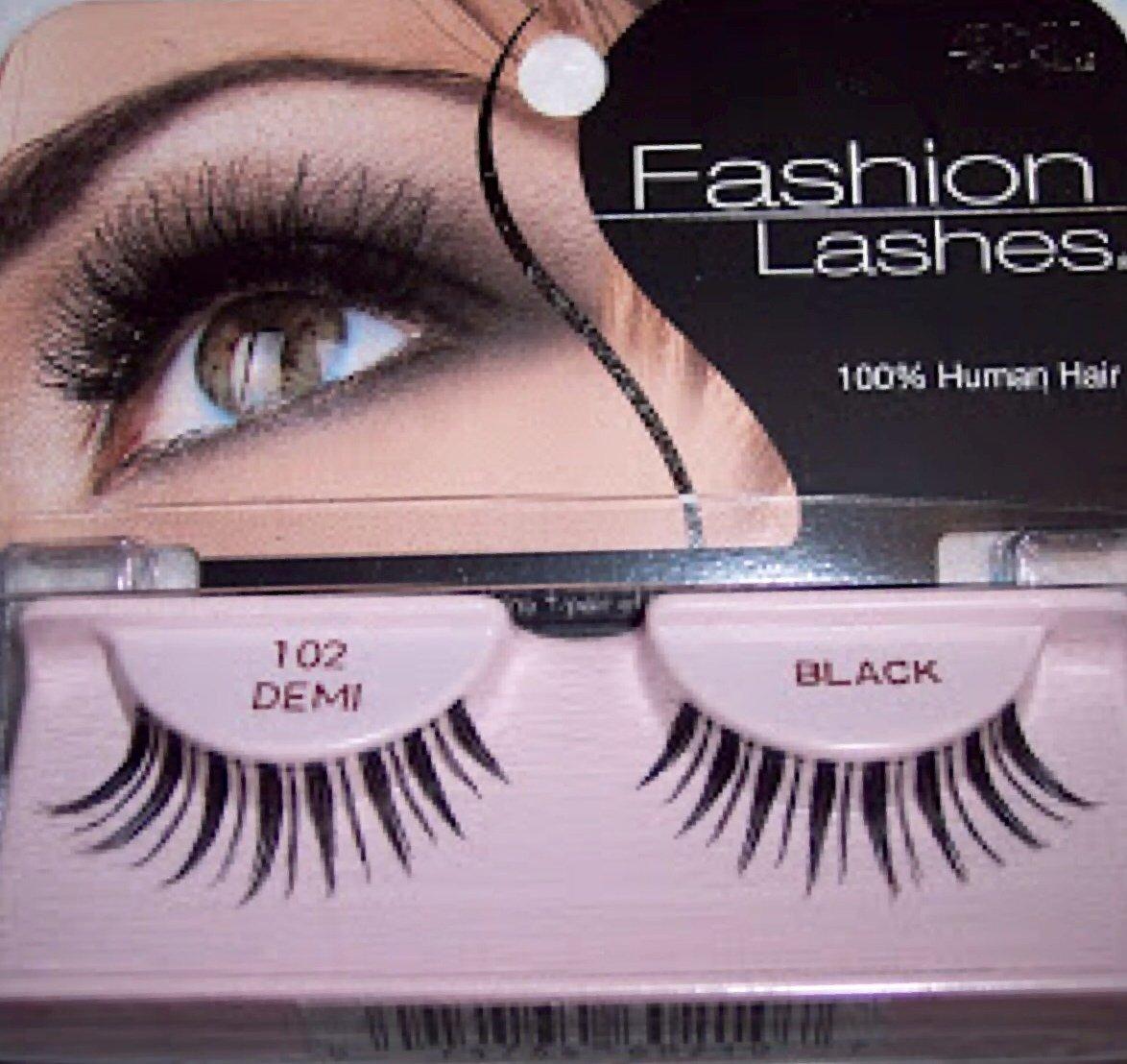 f156966240b Amazon.com : Ardell Fashion Lashes, 102 Demi Black, (Pack of 3) : Beauty