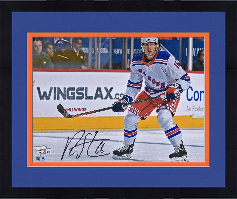 huge discount 5522c 4cc6b Framed Ryan Strome New York Rangers Autographed 8