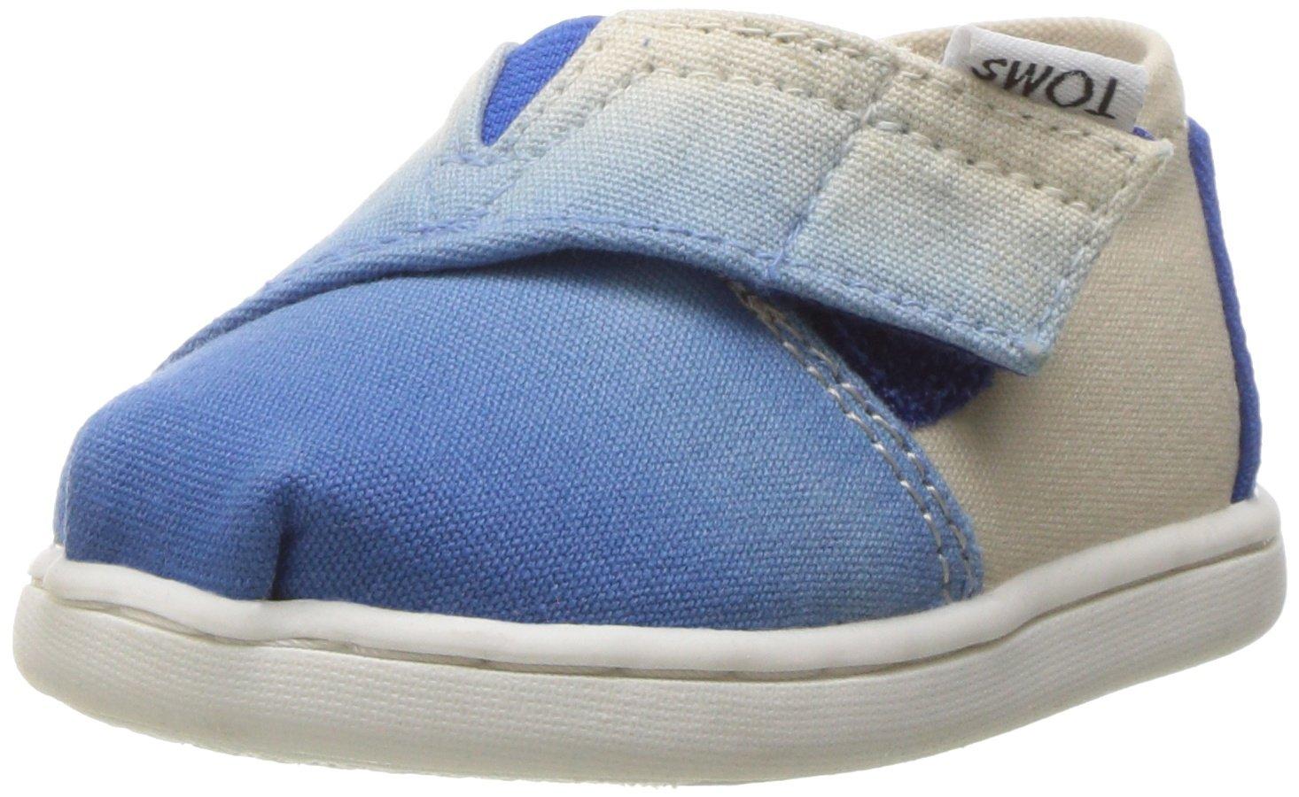 TOMS Girls' 10009922 Alpargata-K, Blue, 11 M US Toddler