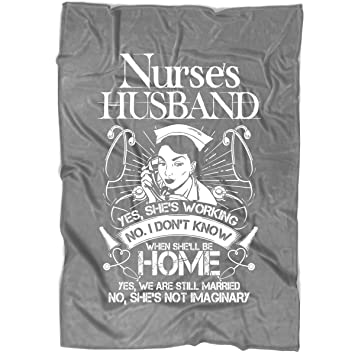 Amazon.com: COLUSTORE Cool Nurse Blanket for Bed and Couch ...