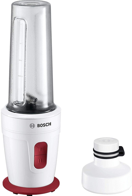 Bosch MMBP1000 - Licuadora (0,5 L, Botones, Batidora de vaso, Rojo ...