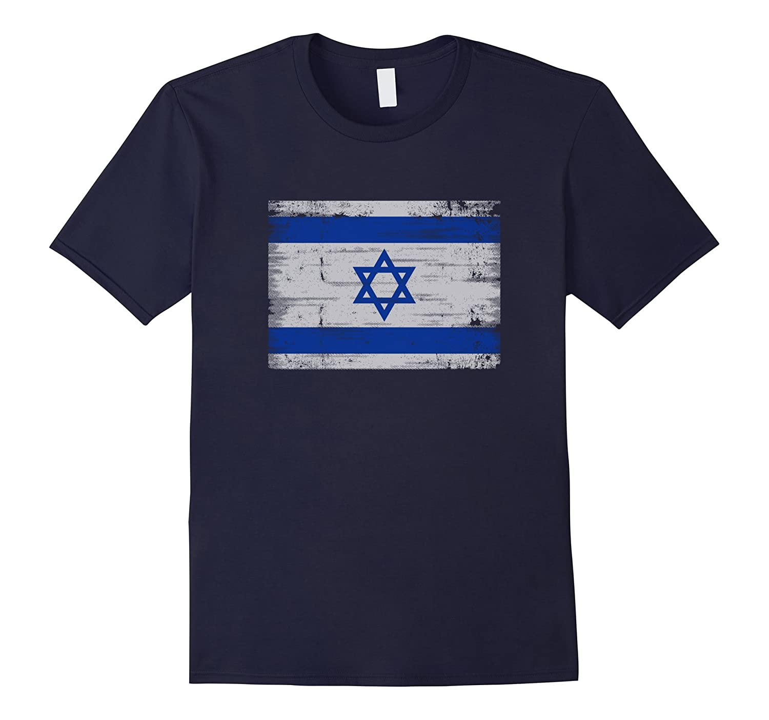 Distressed Israel Flag T-Shirt Hebrew Israelite Heritage