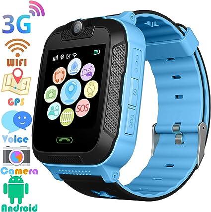 Amazon.com: Reloj inteligente 3G GPS Tracker – niños ...