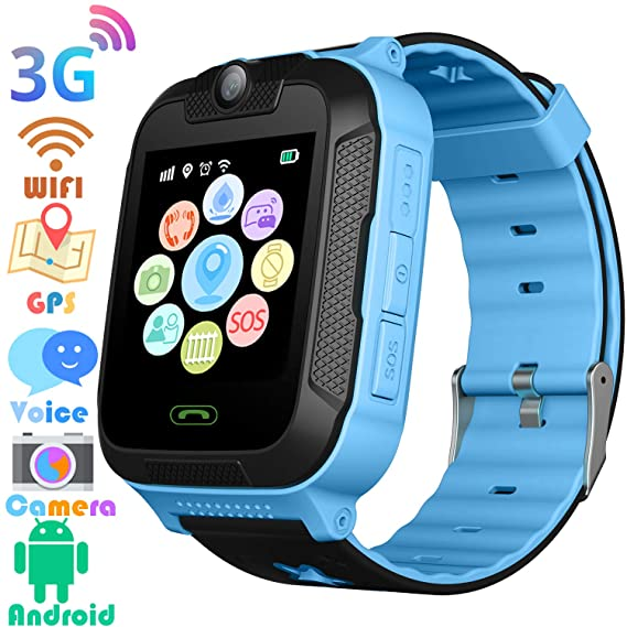 3G Kids Smart Watches GPS Tracker - Kids Android Smart Watch Phone for Boys Girls with 1.4