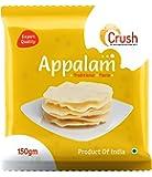 Crush 150g Appalam/Papad (Pack of 3)