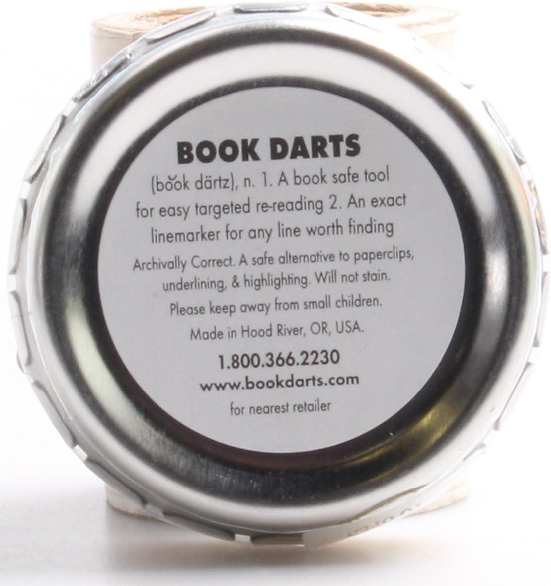 Book Darts 125 count segnalibri a righe segnalibri in latta di ottone