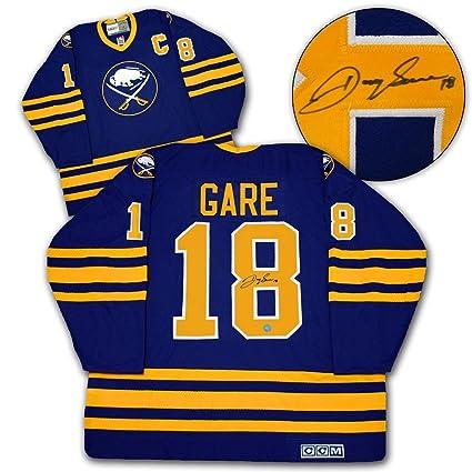 meet 44856 c8bad DANNY GARE Buffalo Sabres SIGNED Retro JERSEY - Autographed ...