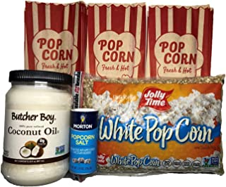 product image for Homemade Popcorn Bundle with Coconut Oil