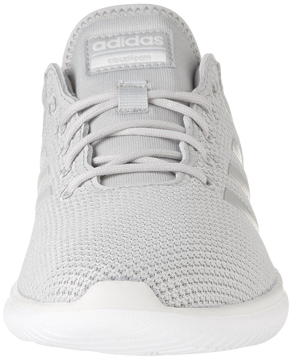 bb62b23224028c adidas NEO Damen Sneaker CF QTFLex Freizeitschuh Schnürer Cloudfoam Grau