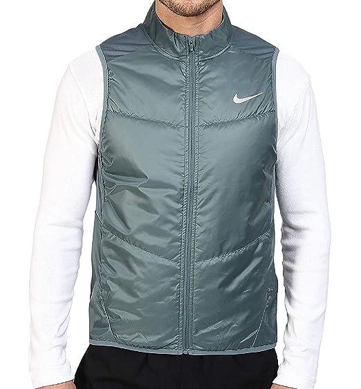 Amazon.com  NIKE Men s Polyfill Light Running Vest-Sage  Sports   Outdoors f3440eb13