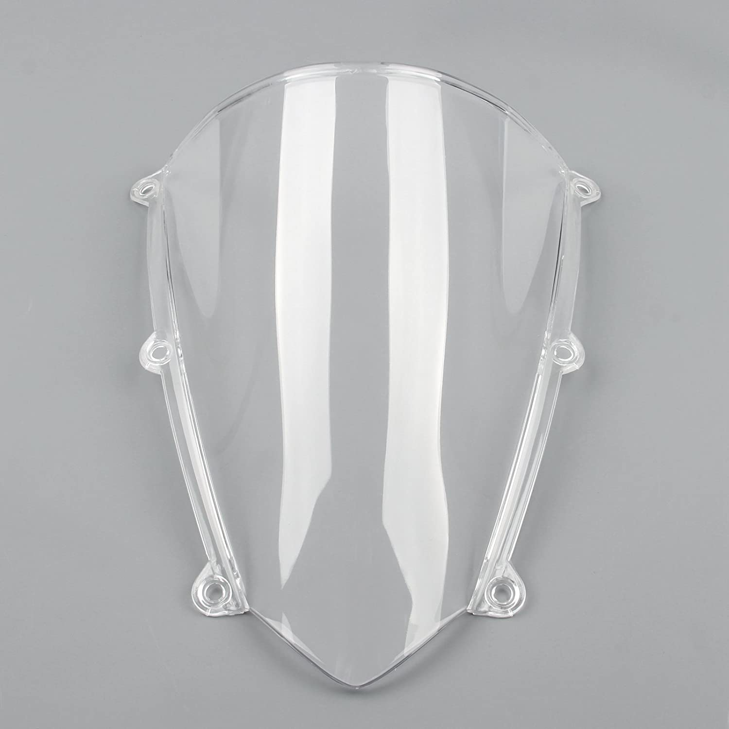 Anteriore Parabrezza Moto Deflettore Parabrezza Deflettori Windshield Windscreen per HON-DA CBR600RR CBR 600 RR 2007-2012 Artudatech Moto Parabrezza