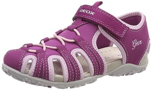 6c2adae4 Geox Jr Sandal Roxanne B, Sandalias Punta Cerrada para Niñas: Amazon.es:  Zapatos y complementos