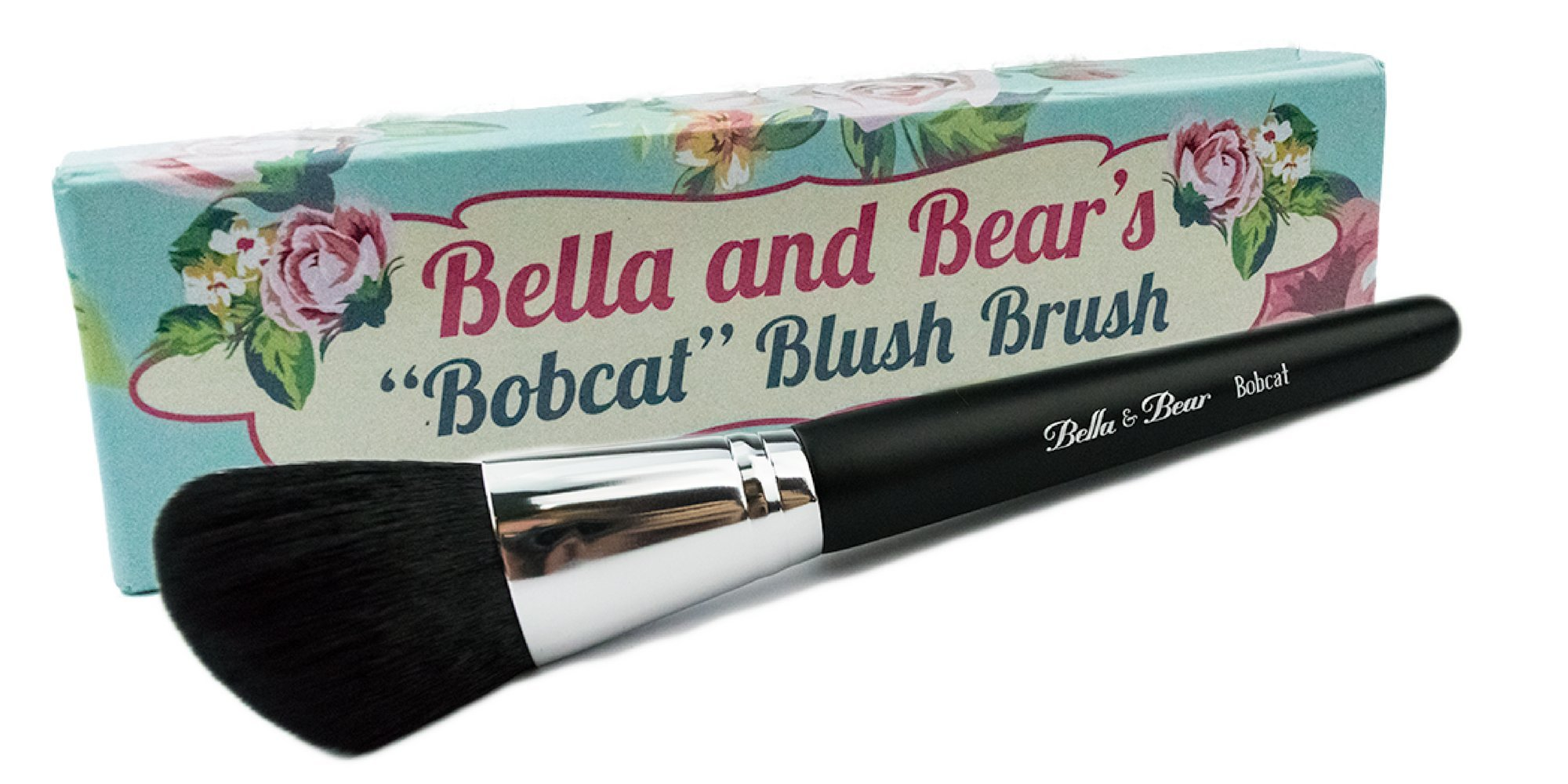 Blush Brush / Contour Brush by Bella & Bear- Our Best Makeup Brush for Applying Blush and Contouring Creams & Powders - Vegan Friendly