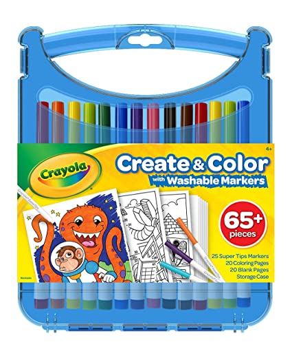 Crayola Colored Pencil Kits with Super Tips, Travel Art Set, Great for  Kids, Ages 4, 5, 6, 7, 8