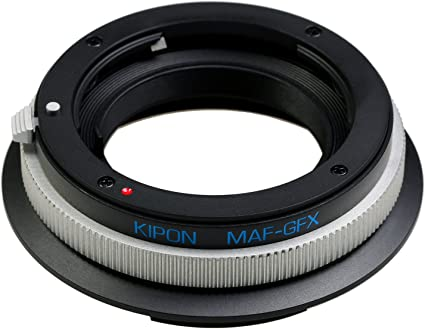 Kipon Camera Lens Adapter For Minolta Af To Fuji Gfx Camera Photo