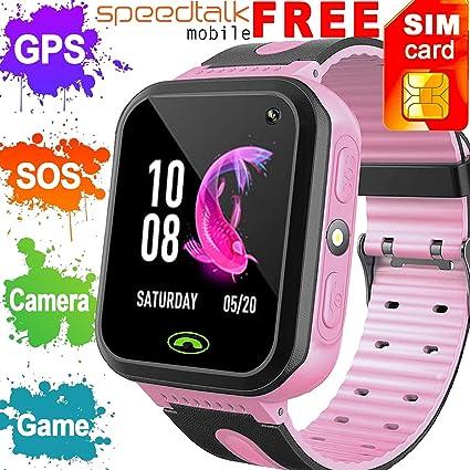 Synmila Smart Watch For Kids Gps Tracker Best Phone: Amazon in