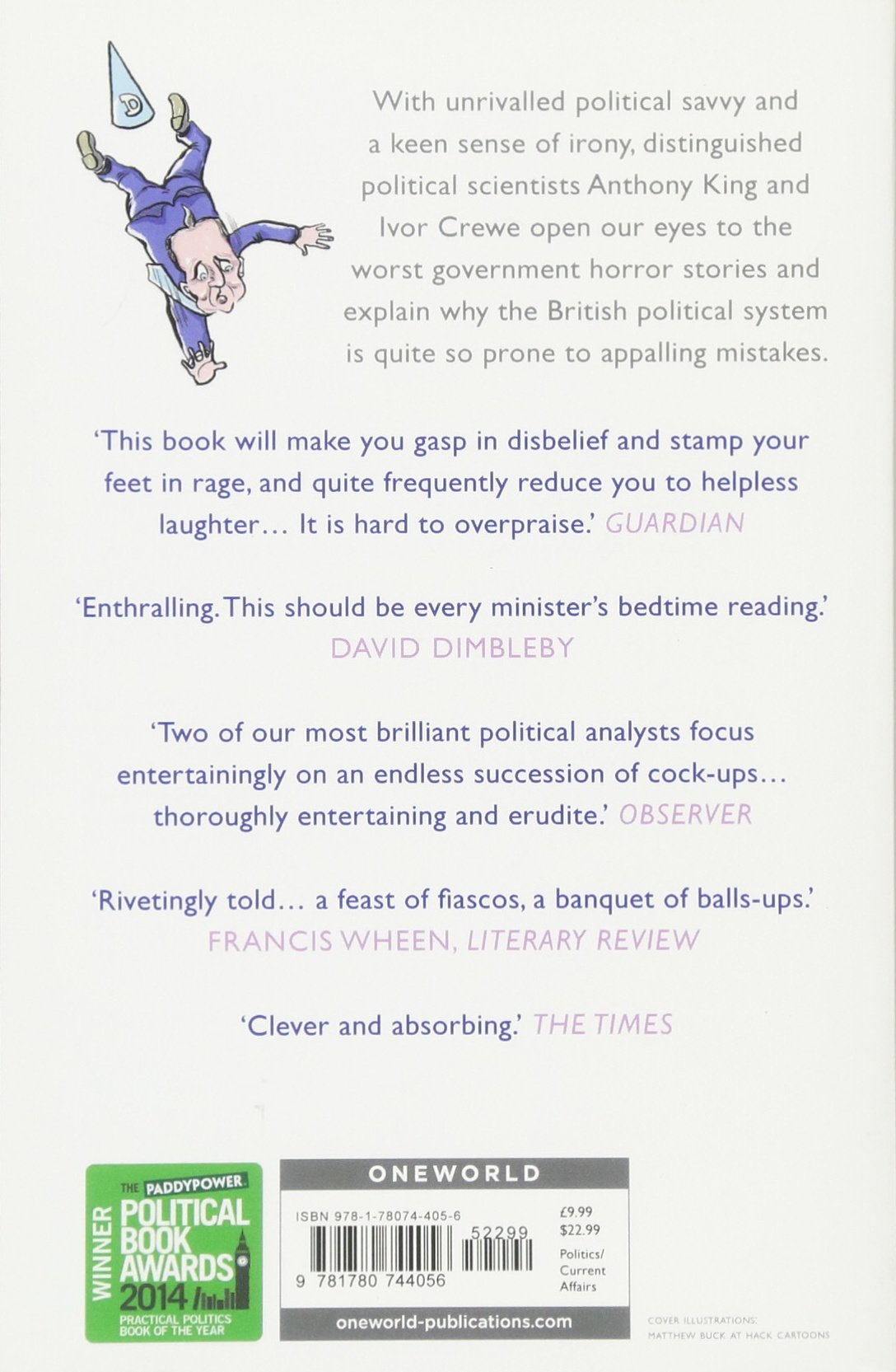 The Blunders Of Our Governments: Anthony King, Ivor Crewe: 9781780744056:  Amazon: Books