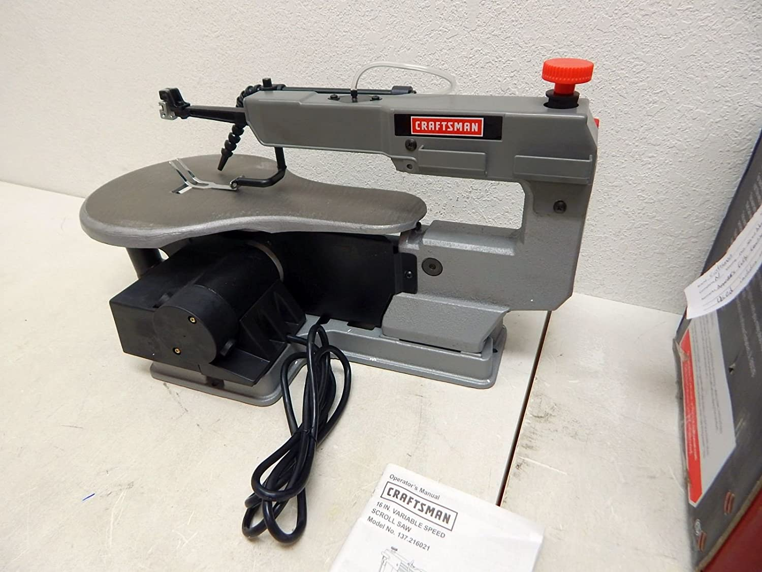 Variable Speed Scroll Saw: Home Improvement