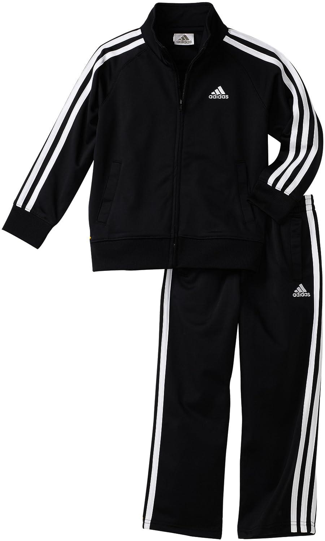 28bc56c3e65b Amazon.com  adidas Toddler Boys  Iconic Tricot Jacket and Pant Set ...
