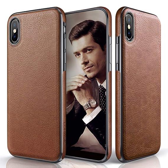 competitive price cd8b2 0ba7a Amazon.com: LOHASIC for iPhone Xs Max Case, Premium Leather Slim ...
