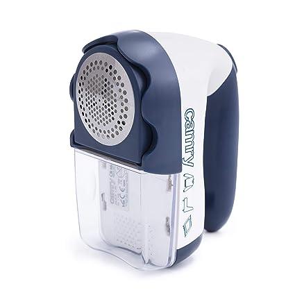 Camry CR9606 Quitapelusas a Pilas o eléctrico con Cuchillas de Acero Inoxidable CR-9606, 1.5 W, 0 Decibeles, Polímero, Azul