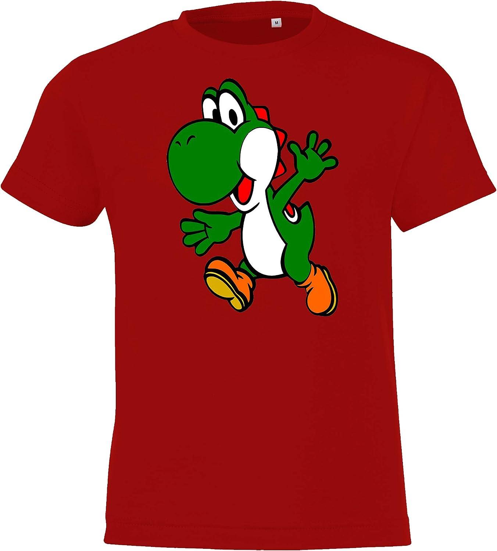 Camiseta para ni/ño Talla 2-12 a/ños en Muchos Colores. TRVPPY Yoshi 2