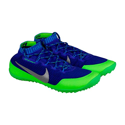Mediador Asser Desempleados  Buy Nike Free Hyperfeel Run Trail Men Round Toe Synthetic Trail Running  Game Royal Reflect Sliver Flash Lime 11.5 D(M) US at Amazon.in