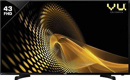VU 108 cm  43 Inches  Full HD Smart LED TV 43PL  Black   2019 Model  Smart Televisions