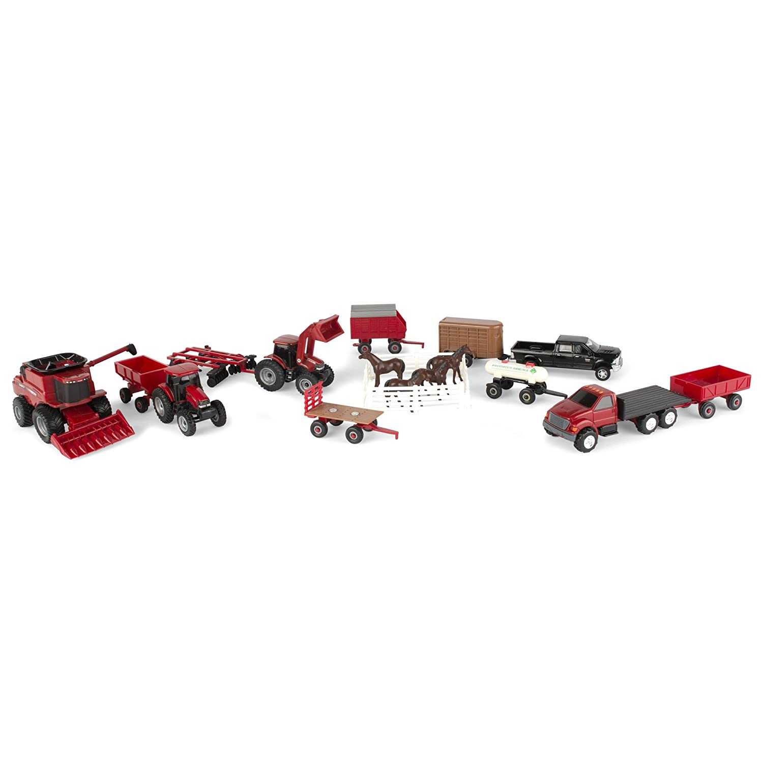 ERTL 44091 Case Vehicle Value Set