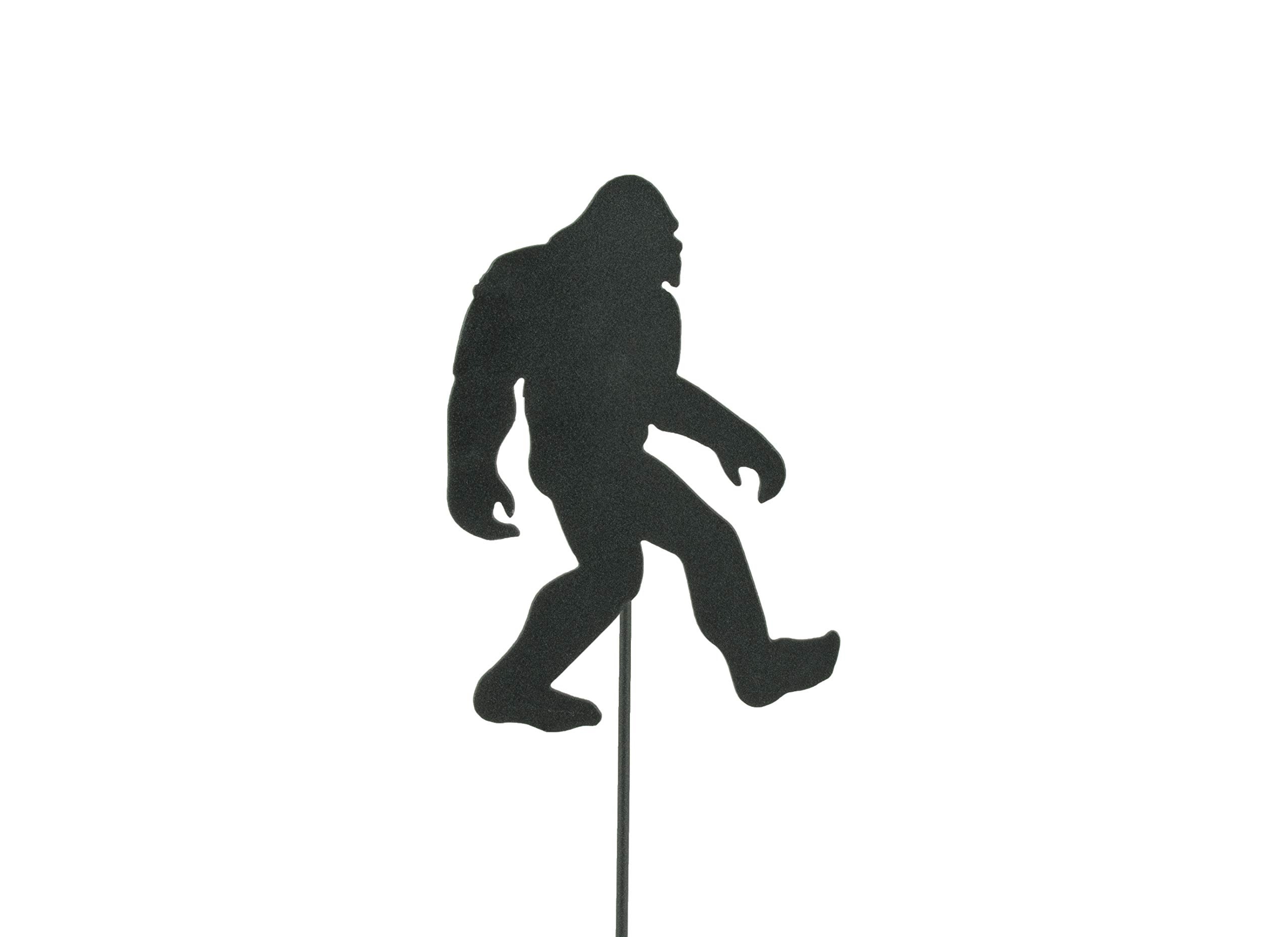 BLUE LUCA Bigfoot, Large Sasquatch Garden Stake | Bigfoot is 8x12 Inches | Made in USA